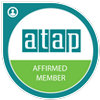 This image is the atap badge showing that Padgett Orillia is an Affirmed Member.